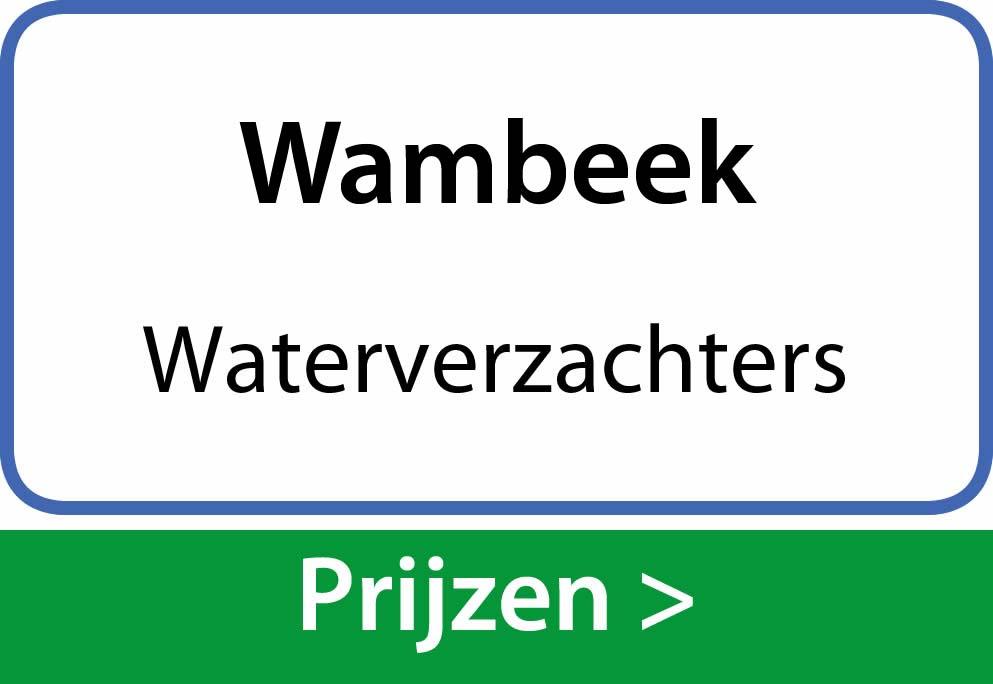 waterverzachters Wambeek
