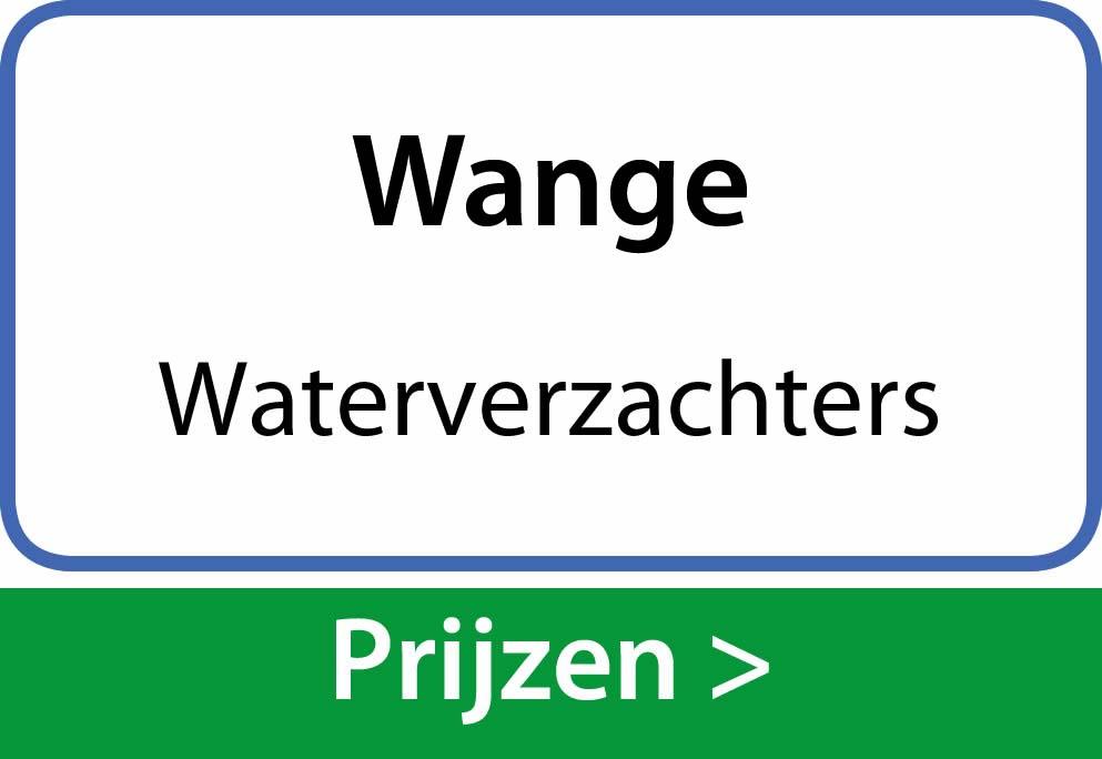 waterverzachters Wange