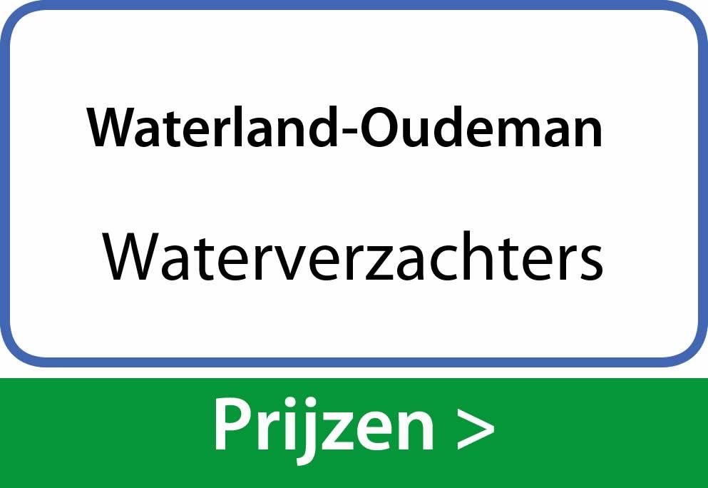 waterverzachters Waterland-Oudeman
