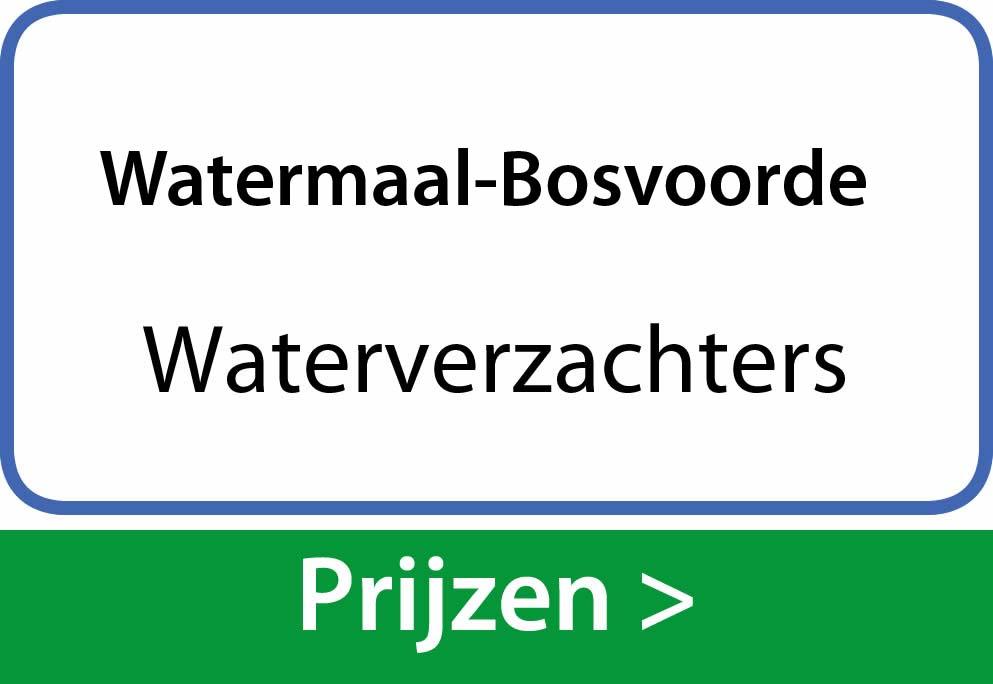 waterverzachters Watermaal-Bosvoorde