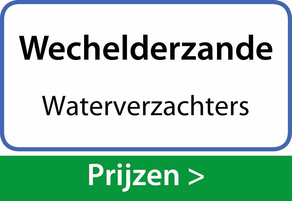 waterverzachters Wechelderzande