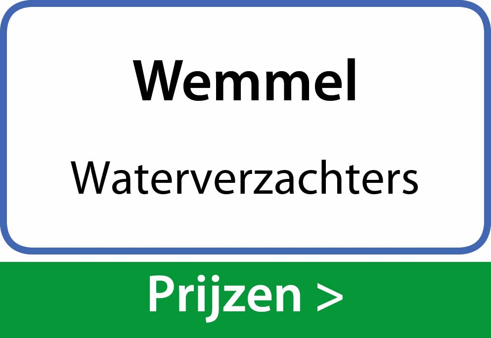 waterverzachters Wemmel