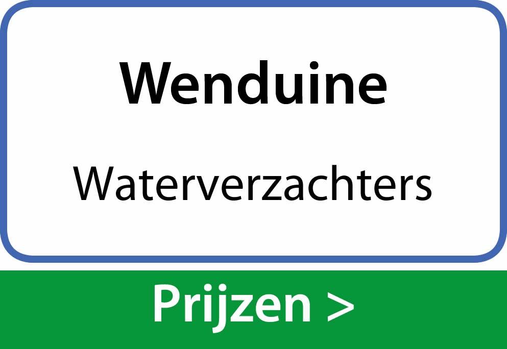 waterverzachters Wenduine