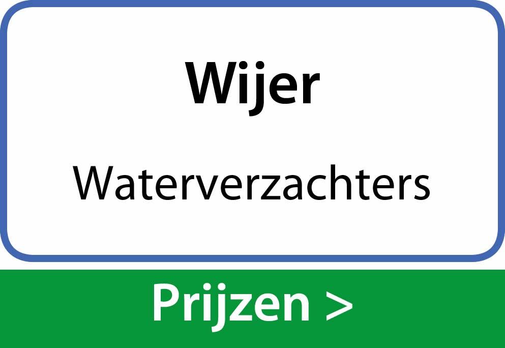 waterverzachters Wijer