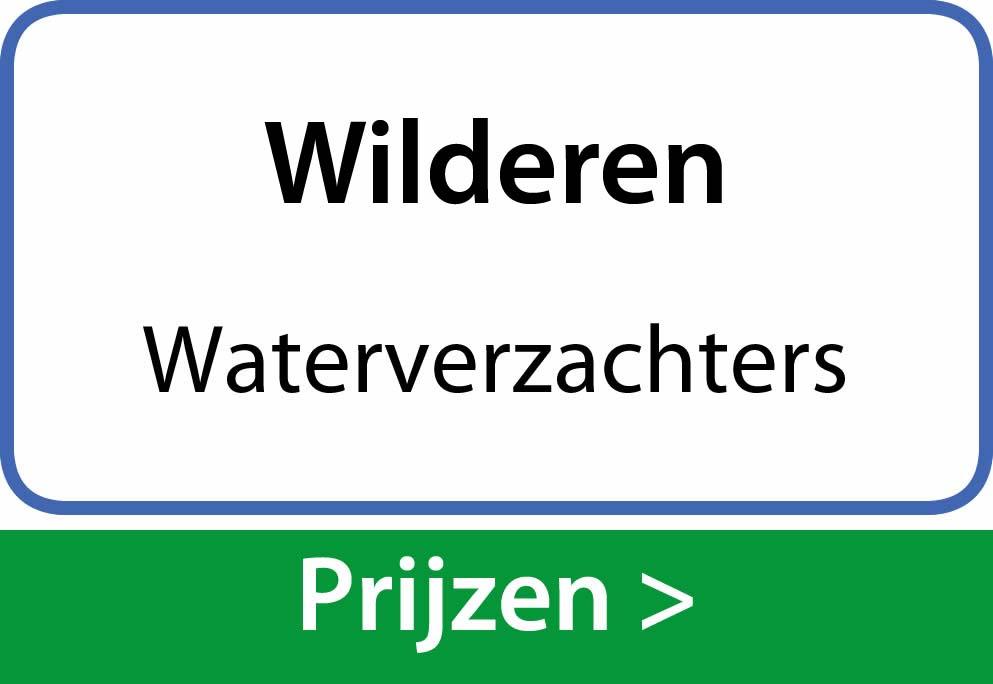 waterverzachters Wilderen