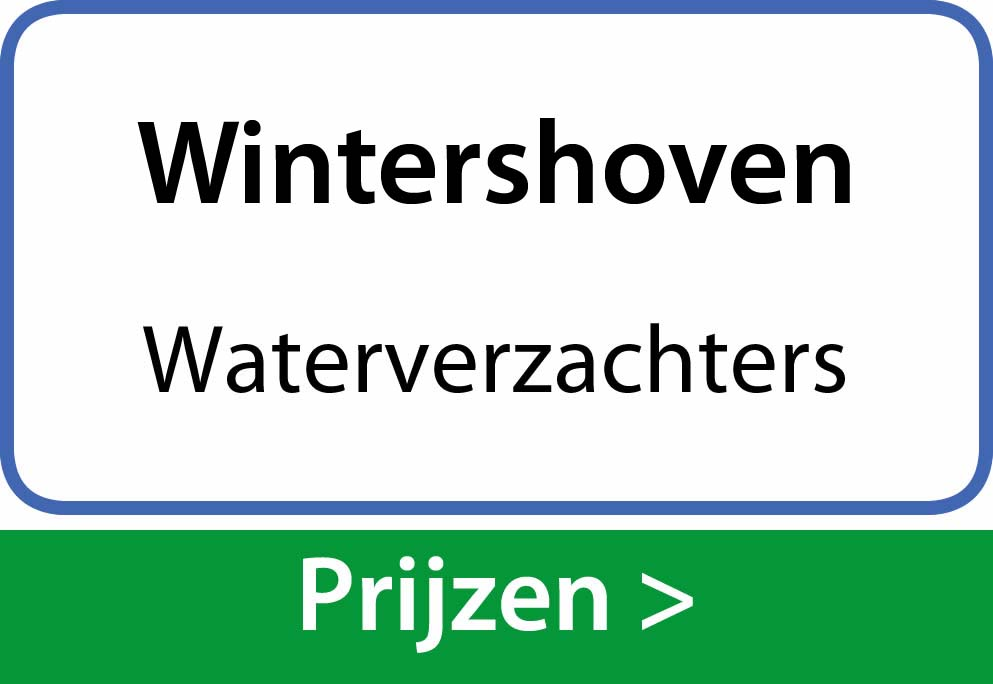 waterverzachters Wintershoven