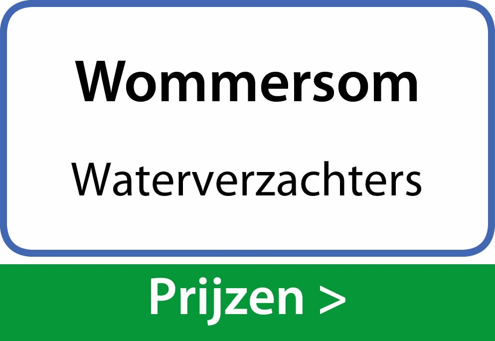waterverzachters Wommersom