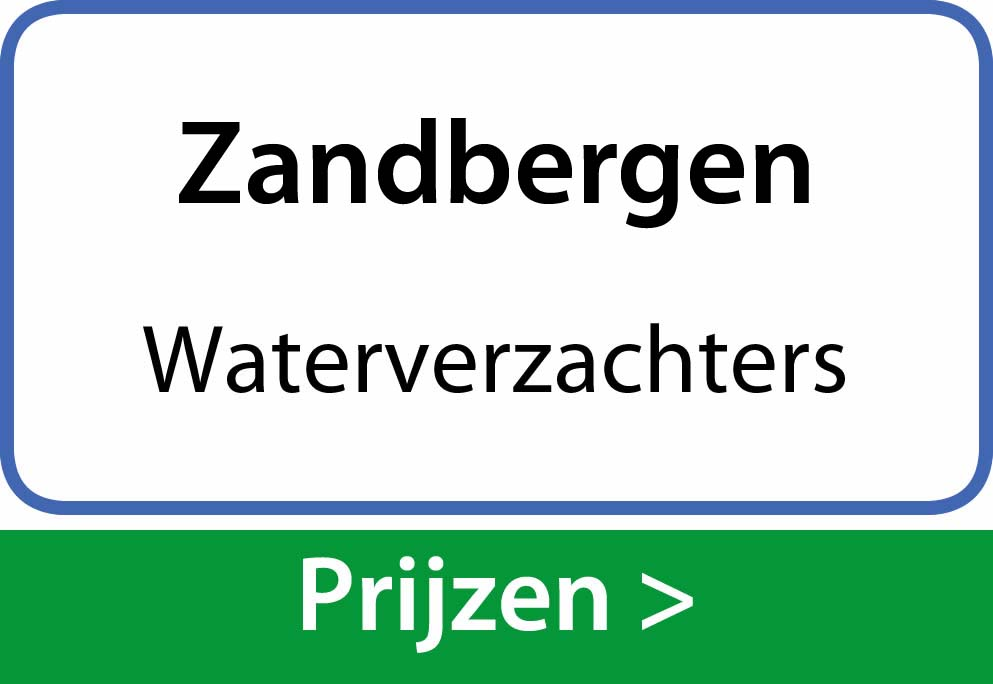 waterverzachters Zandbergen