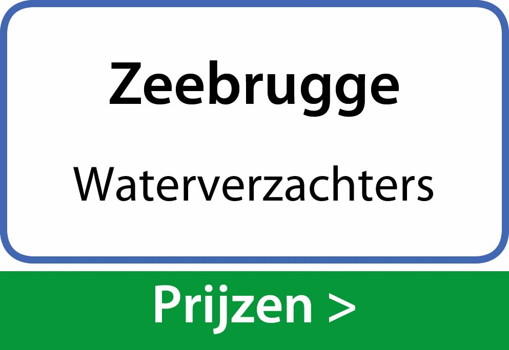 waterverzachters Zeebrugge
